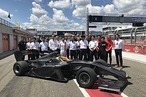 Super Formula Breaking news New Super Formula car completes first running