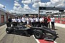 Super Formula New Super Formula car completes first running