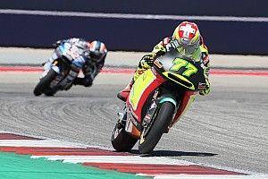 Cedera panggul, Aegerter absen di Jerez