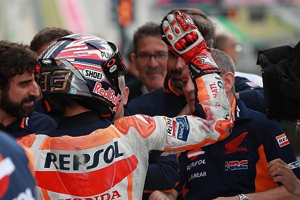 MotoGP Jelentés a versenyről Marquez fölényes győzelmet aratott Austinban Vinales és Iannone előtt, Rossi 4.