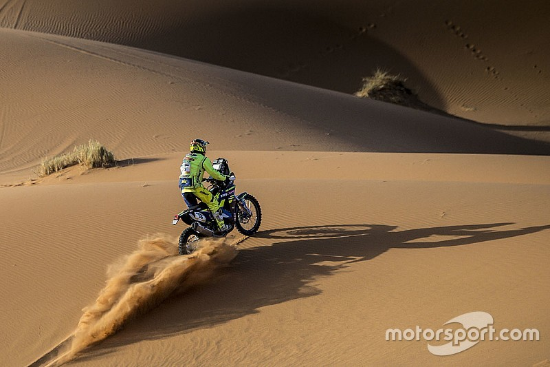 Merzouga Rally: Sherco TVS, Hero gain in tricky Stage 4 stage