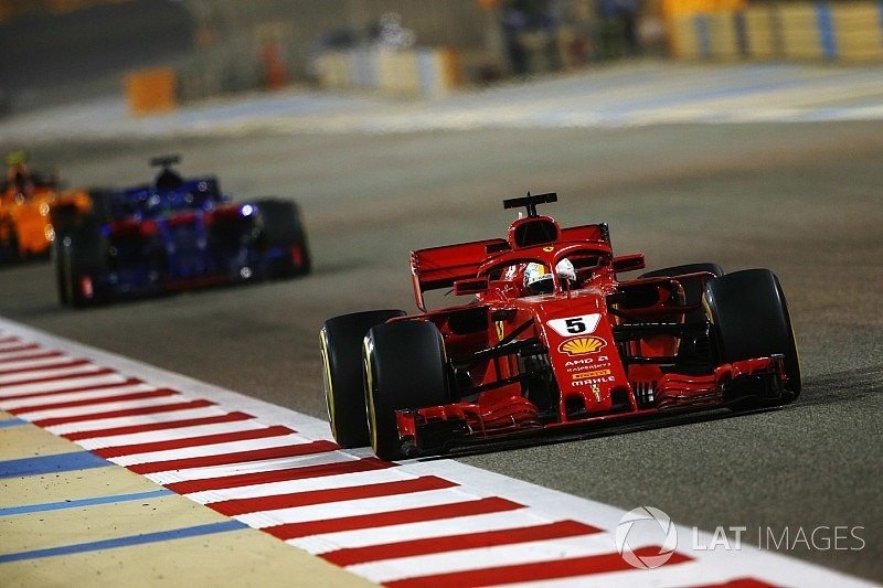 "Vettel says Ferrari ""healthier"" but must improve"