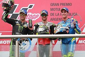 Argentina MotoGP: Crutchlow wins crazy race, Marquez hits Rossi