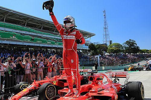 Stand: Vettel dicht bij P2, Raikkonen nadert Ricciardo