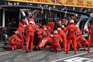 A bokszban tartolt a Ferrari és Vettel a Német Nagydíjon: 2.09 mp