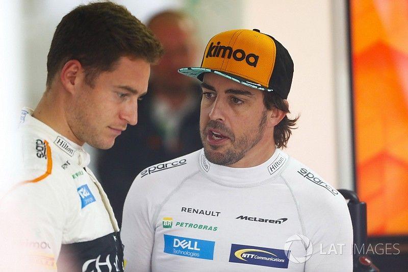 Alonso: Vandoorne bana Raikkonen'den daha yakın