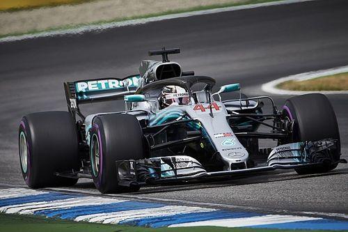F1ドイツGP決勝速報:雨で大混乱、ハミルトン大逆転優勝。ハートレー10位