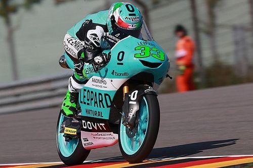 Moto3 Duitsland: Bastianini snelste in opwarmtraining op de Sachsenring