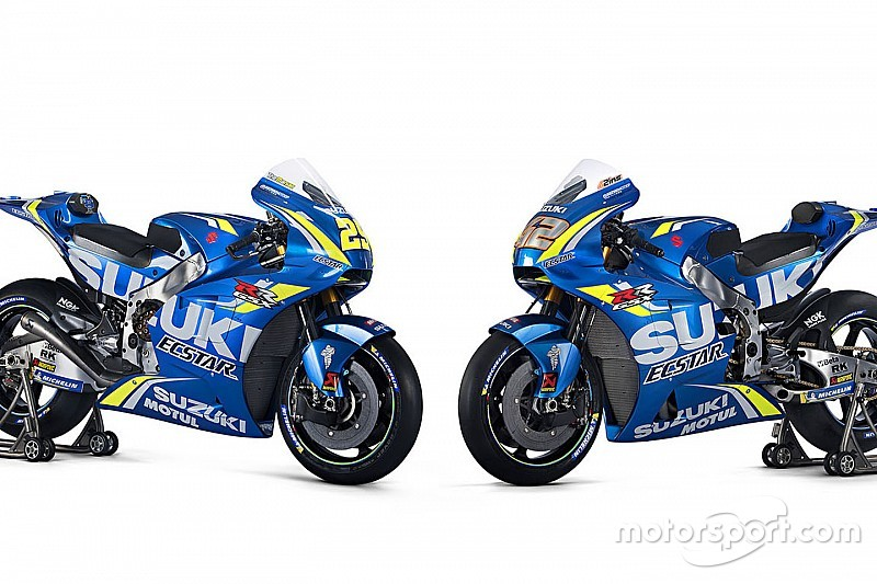 Suzuki apresenta moto da temporada 2018