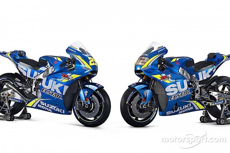 Suzuki zeigt die GSX-RR für die MotoGP-Saison 2018