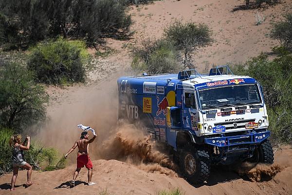 Camions - Villagra a fait trembler Nikolaev
