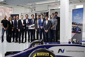 La Sauber stamperà in... 3D i particolari della vettura!