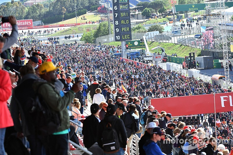 Több, mint 172 ezer néző volt kint a Spanyol Nagydíjon