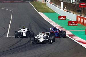 Forma-1 Motorsport.com hírek Kényelmetlen napja volt a Williamsnek Barcelonában