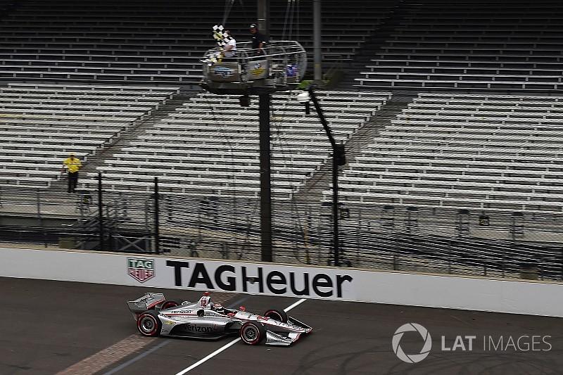 Indy GP: Power pakt 200e winst voor Penske