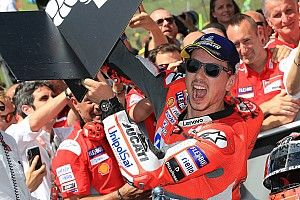 Kemenangan tak jamin masa depan Lorenzo
