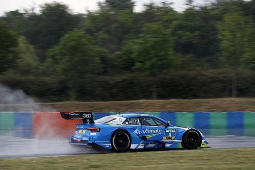 DTM Hungaroring: Frijns snelste in tweede oefensessie