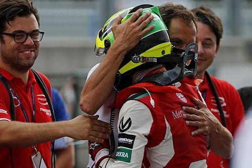 Schumacher ilk zaferini, Spa'da yağmur altında aldı!