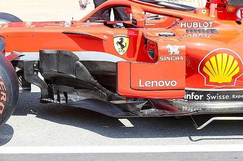 Ferrari: nuovo bargeboard e modifiche ai deviatori di flusso per più avere più efficienza