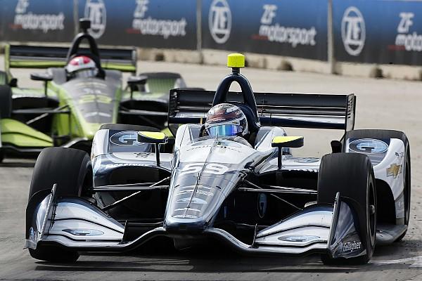 "Carlin ""really proud"" of IndyCar team progress in rookie season"