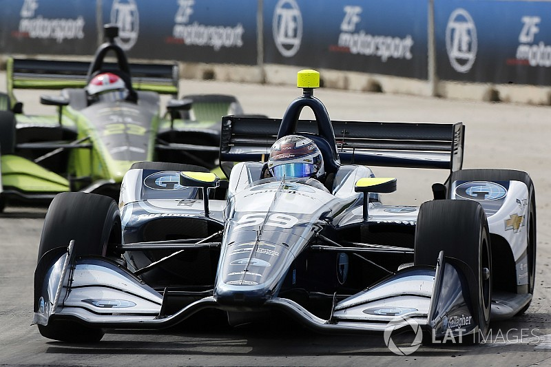 "Carlin ""really proud"" of IndyCar team progress in rookie season"