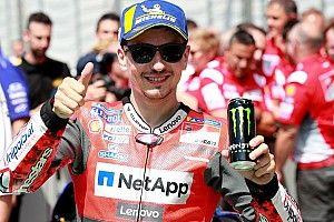 """Updates GP18 doen Lorenzo goed: """"Comfort is beter en ben sneller"""""""