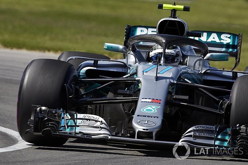 """Bottas, en première ligne : """"Serré avec Ferrari"""""""