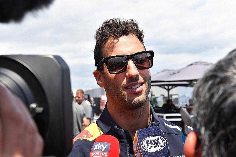 Ricciardo entiende la frustración de Verstappen