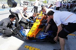 GALERÍA TÉCNICA: Últimas actualizaciones de autos F1, directamente desde los garajes