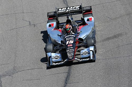 Rahal frustrated but proud of Barber performance