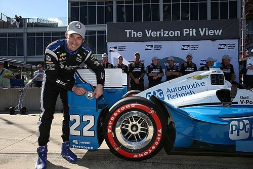 Pagenaud beats Power to pole at Barber
