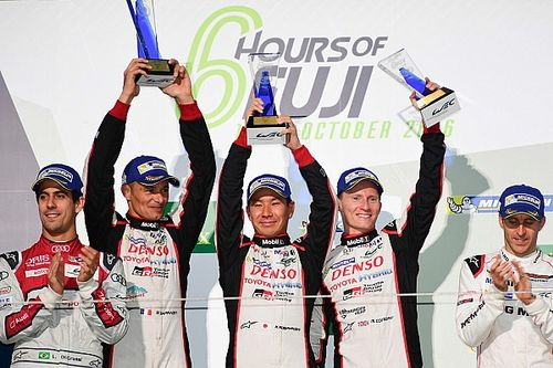 Fuji WEC: Toyota scores first WEC win since 2014 on home soil