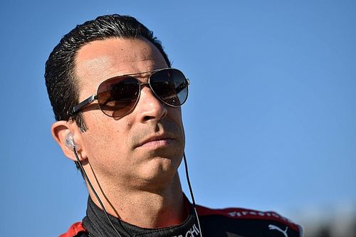 "Castroneves: ""All of a sudden there was a car on top of me"""
