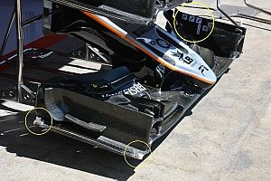 Bite-size tech: Force India VJM09 set-up
