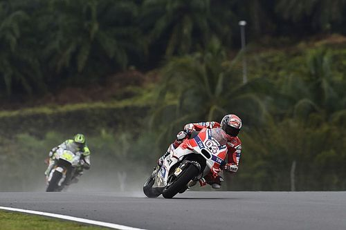 "Crutchlow could tell Dovizioso was the ""guy to beat"" at Sepang"