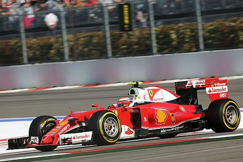Ferrari: Raikkonen on the podium in Sochi
