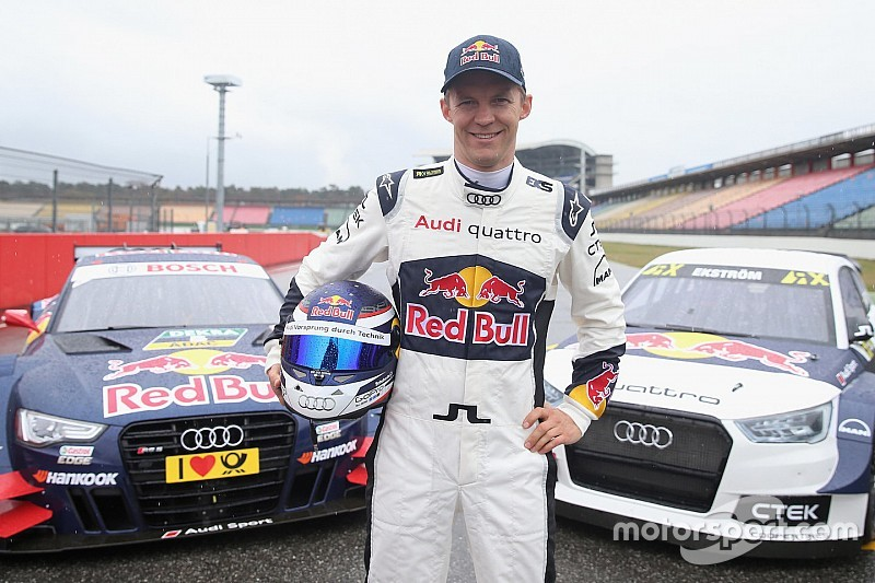 Ekstrom set for DTM/WRX double duty at Hockenheim