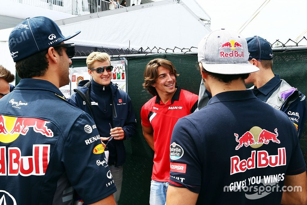 "Ricciardo: ""Merhi era como Verstappen"""