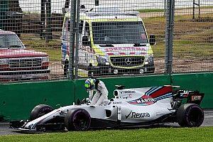 """Após quebra, Massa admite: """"Não foi o dia que esperávamos"""""""