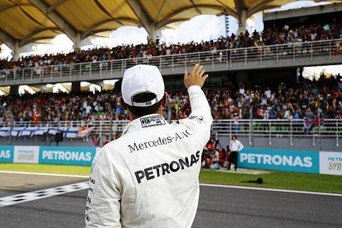 Malezya'daki pole pozisyonu Hamilton'ı şaşırttı