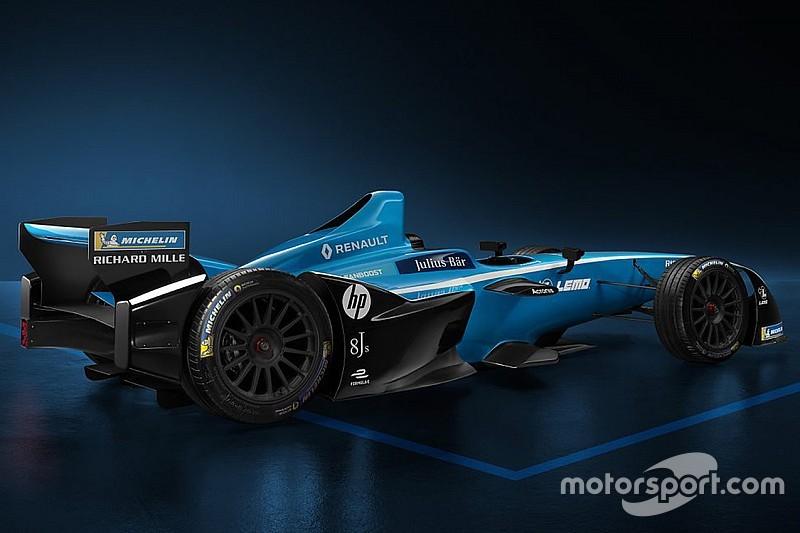 La Renault e.dams svela la nuova livrea per la stagione 4
