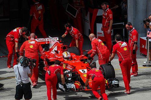 Ferrari insiste en que cambiar el motor de Vettel no fue un error