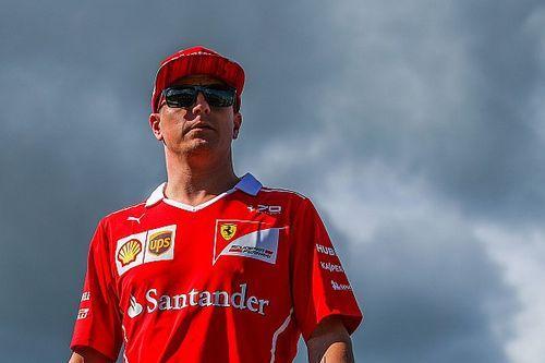 """Kimi Räikkönen désigné """"Pilote du Jour"""" du GP de Hongrie 2017"""