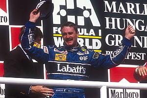 Formel 1 Fotostrecke Vor 25 Jahren: Nigel Mansell wird Formel-1-Weltmeister