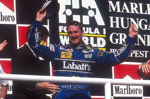 Remembering Nigel Mansell's maiden championship