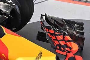 Red Bull strengthens front wing after flexing intrigue