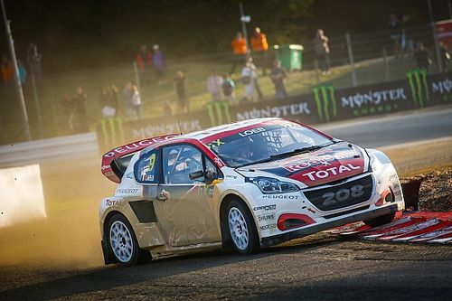 France WRX: Loeb heads points leader Kristoffersson on Saturday