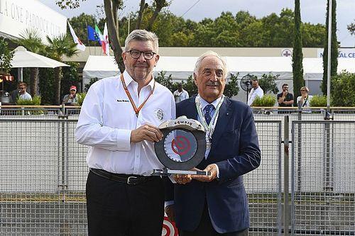 Brembo ha consegnato a Ross Brawn l'F.1 Excellence Award by Brembo