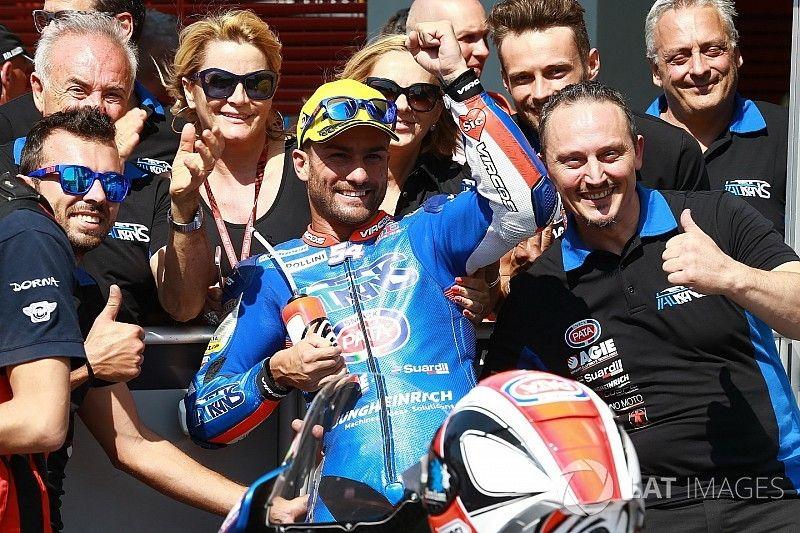 Moto2: Pasini vuelve a ganar ocho años después