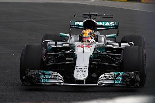 """""""Estamos um pouco atrás da Ferrari"""", avalia Hamilton"""